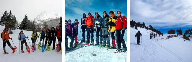 Raquetas de Nieve - Amadablam Aventura - Juan Toribio - Bonviure Trek
