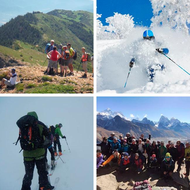 Trekking, Esquí y Senderismo con Aragón Aventura