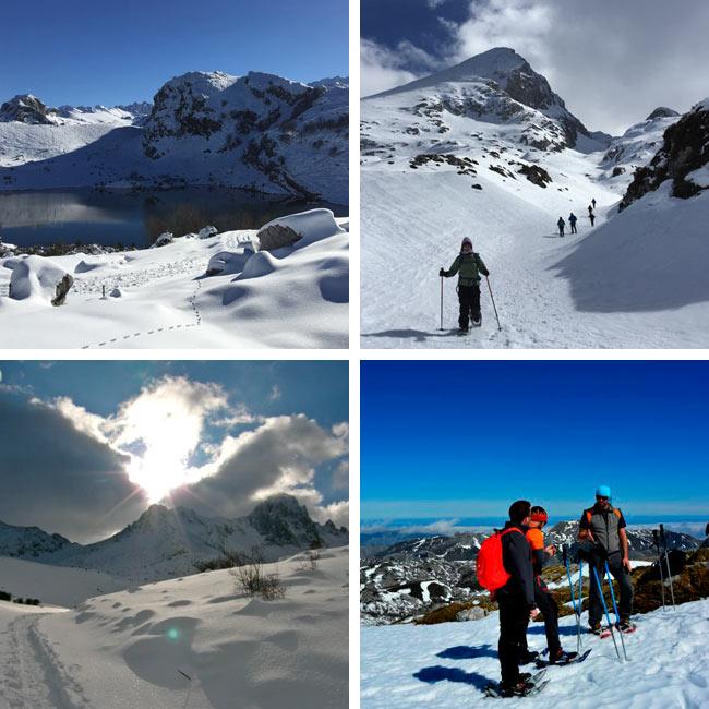 Trekking y Raquetas de Nieve en Picos de Europa