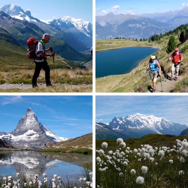 Trekkings en Los Alpes con Amadablam Aventura