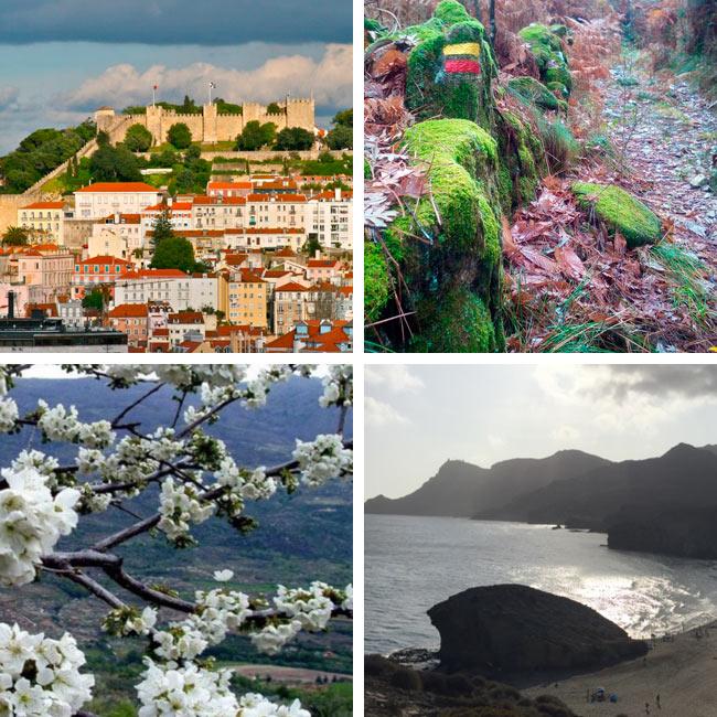 Senderismo Sevilla: Viajes de invierno y primavera