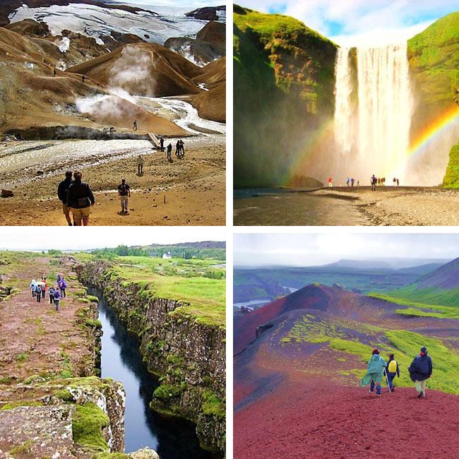 ISLANDIA, Senderismo y viaje de aventura, para «solos» en grupo