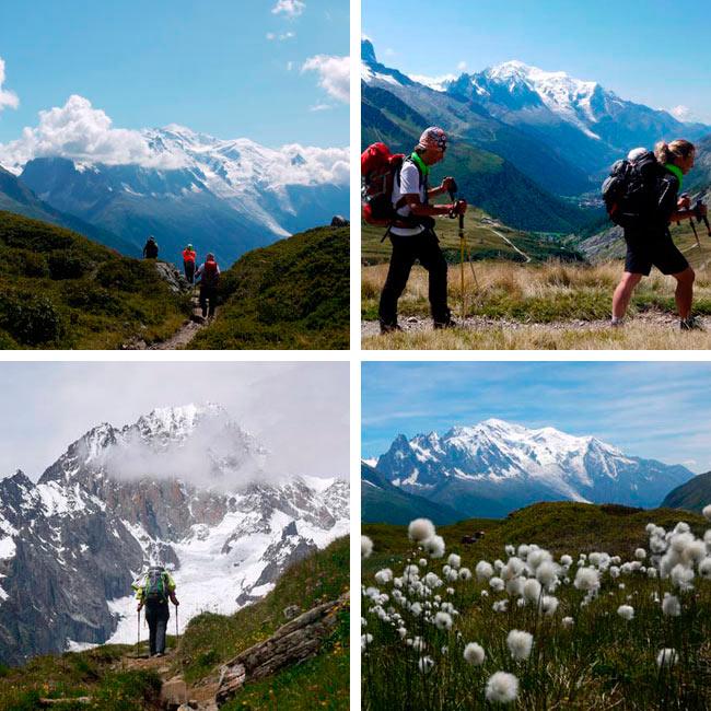 Trekking Tour del Montblanc 9 etapas
