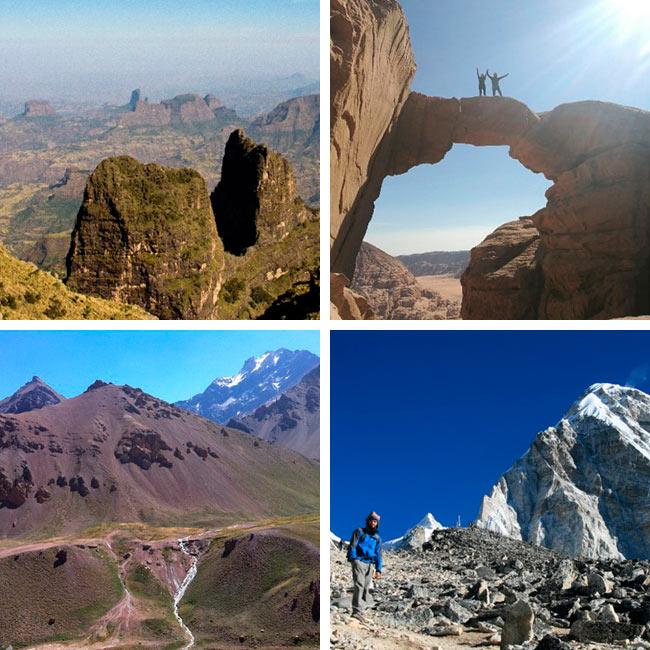 Trekkings y ascensiones con Naturtrek – Otoño/Invierno