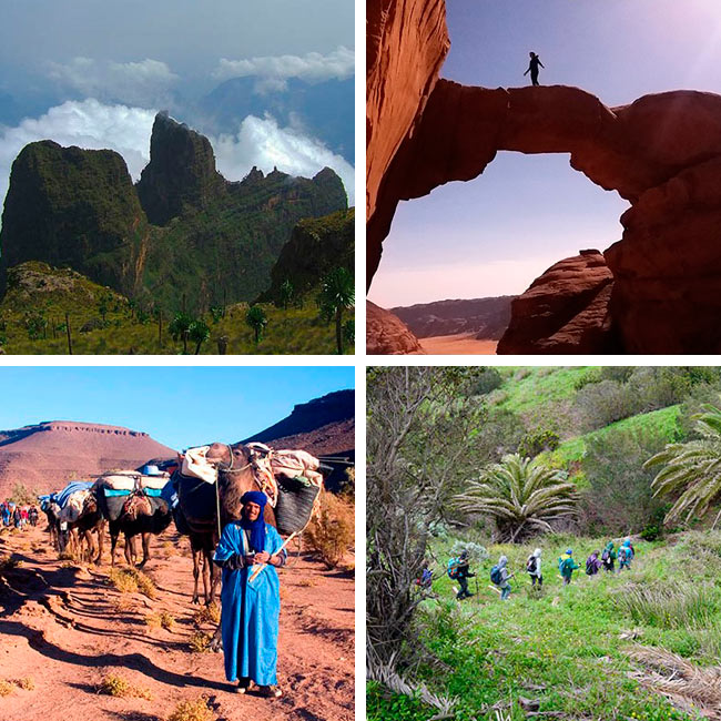 Trekkings fin de año con Entornos Únicos