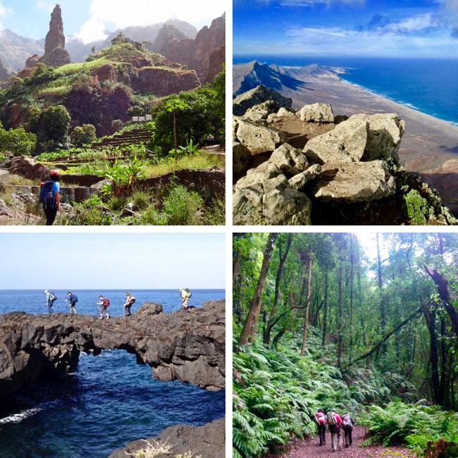 Senderismo Fin de Año en Cabo Verde o Canarias con ACAMINAR TRAVEL